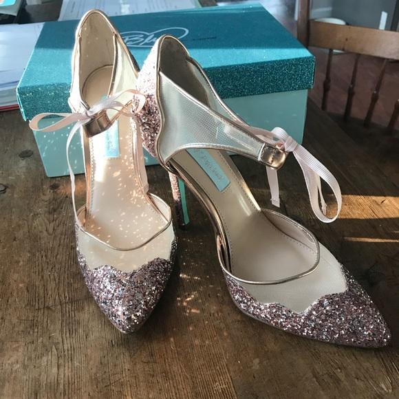 d47c35f94 Betsey Johnson Shoes   Stela Heel Gold Wedding   Poshmark